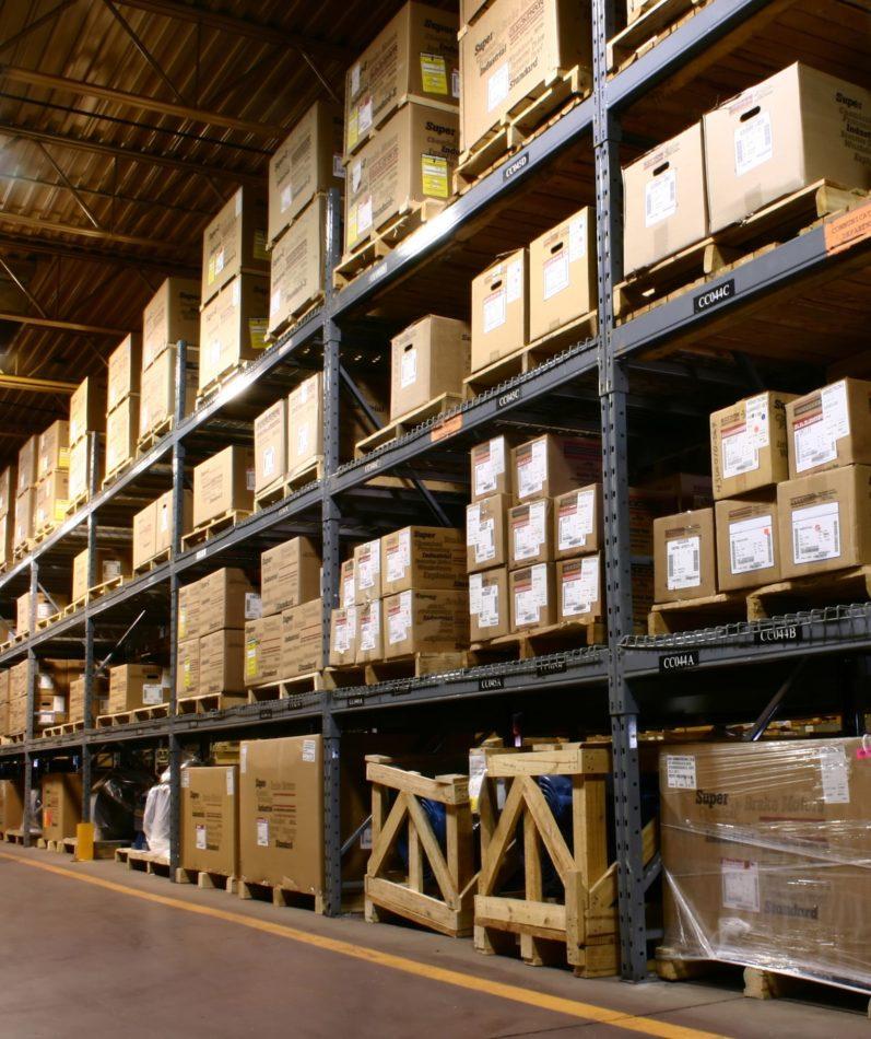 Logistique entrepôt de stockage