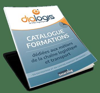 Catalogue de formations : métiers chaîne logistique et transport.