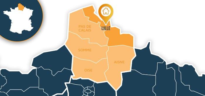 Centre de formation : Lille / Nord