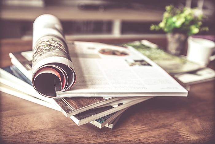 Revue de presse : archives Dialogis, magazines spécialisés.