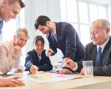 Pôle conseil : prestation jeu et séminaire d'entreprise (échanges entres collaborateurs)